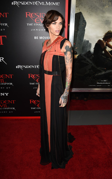 Premiere Of Sony Pictures Releasing's 'Resident Evil: The Final Chapter' - Red Carpet