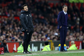 Rui Faria Manchester United v West Ham United - EFL Cup Quarter-Final
