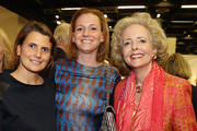 (L-R) Andrea von Goett, Jenny Falckenberg and Isa von Hardenberg attend the Ruinart cocktail reception during the 47th Art Cologne art fair at Koelnmesse on April 18, 2013 in Cologne, Germany.