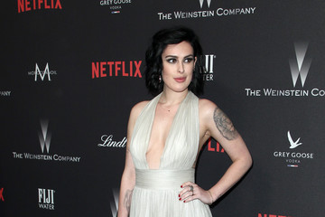Rumer Willis The Weinstein Company and Netflix Golden Globe Party, Presented With FIJI Water, Grey Goose Vodka, Lindt Chocolate, and Moroccanoil - Red Carpet