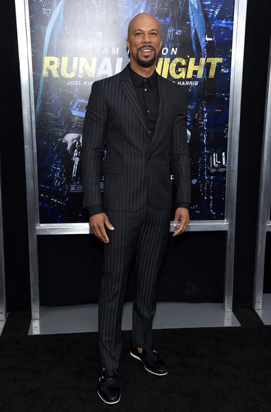 "Musician Common attends the ""Run All Night"" New York Premiere at AMC Lincoln Square Theater on March 9, 2015 in New York City."