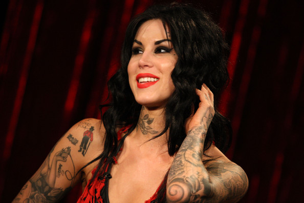 kate von d tattoo. Kat Von D Videos