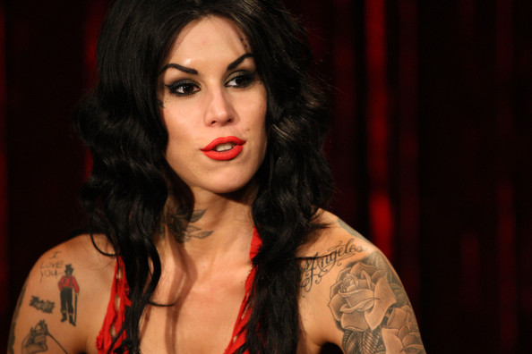 kate von d tattoo. Kat Von D Tattoo artist and TV