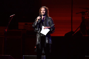 Russell Brand 2020 MusiCares Person Of The Year Honoring Aerosmith - Show
