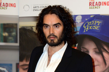 Russell Brand Russell Brand Delivers the Reading Agency Lecture