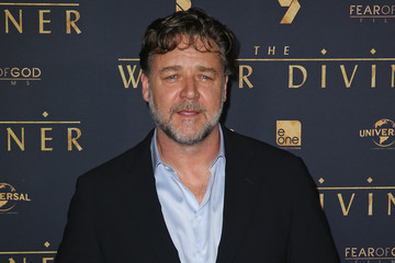 Russell Crowe 'The Water Diviner' Premieres in Melbourne