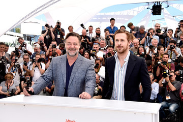 Russell Crowe 'The Nice Guys' Photocall - The 69th Annual Cannes Film Festival
