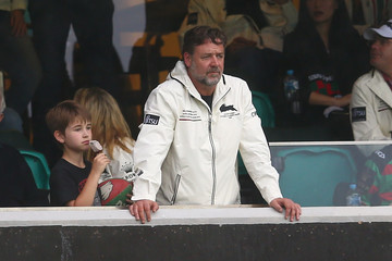Russell Crowe NRL Rd 3 - Dragons v Rabbitohs