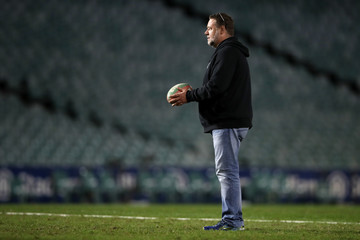 Russell Crowe NRL Rd 9 - Rabbitohs v Sea Eagles