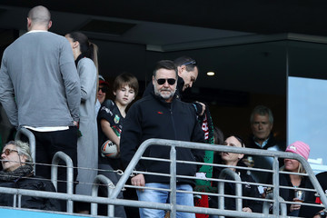 Russell Crowe NRL Rd 17 - Rabbitohs v Panthers
