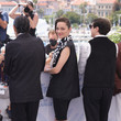 Russell Mael Jodie Foster Recieves An Honorary Palme D'Or Photocall - The 74th Annual Cannes Film Festival