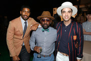 (L-R) Musicians Fonzworth Bentley, O'Neal McKnight and DJ Cassidy attend Russell Simmons' Rush Philanthropic Arts Foundation's inaugural Art For Life Los Angeles at Private Residence on May 3, 2016 in Los Angeles, California.
