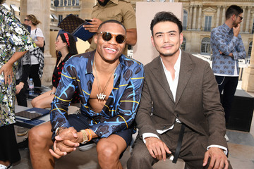 Russell Westbrook Louis Vuitton : Front Row  - Paris Fashion Week - Menswear Spring/Summer 2018
