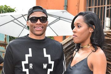 Russell Westbrook Marcelo Burlon County of Milan - Front Row - Milan Collections Men SS16