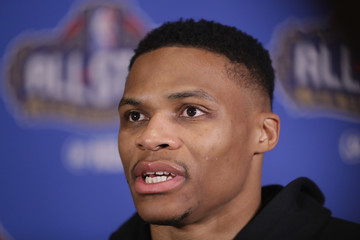 Russell Westbrook NBA All-Star Game 2017 - Media Availability