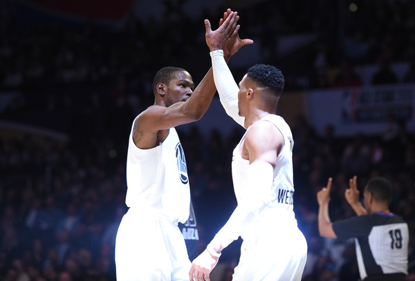 17cdf0fd9e81 Russell Westbrook and Kevin Durant Photos»Photostream · Pictures · NBA All-Star  Game 2018