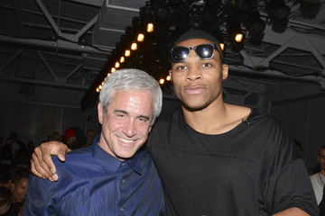Russell Westbrook En Noir - Front Row - Mercedes-Benz Fashion Week Spring 2015