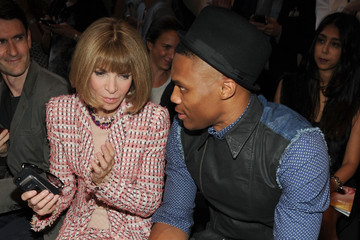 Russell Westbrook Rag & Bone Women's Collection - Front Row- Mercedes-Benz Fashion Week Spring 2014