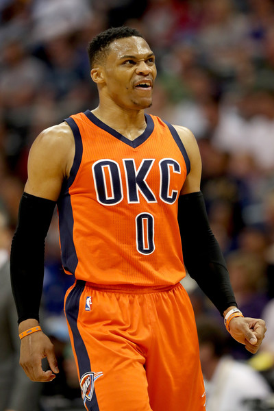 Russell+Westbrook+Oklahoma+City+Thunder+