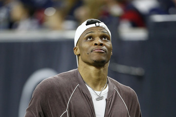 Russell Westbrook New England Patriots vs Houston Texans