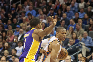 Russell Westbrook Los Angeles Lakers v Oklahoma City Thunder