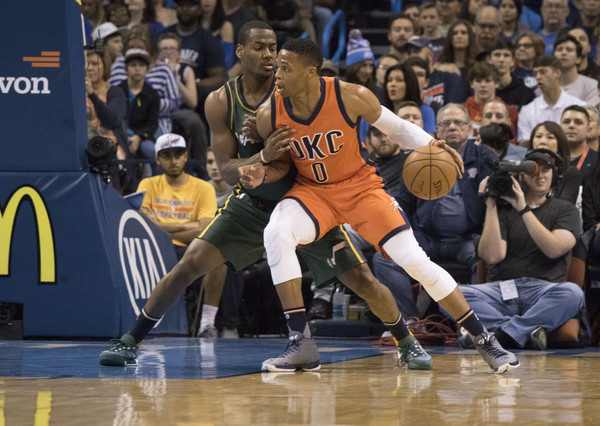 Utah Jazz v Oklahoma City Thunder