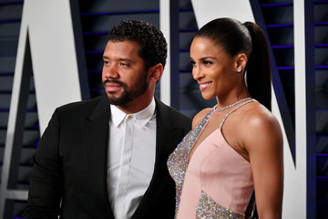 Russell Wilson 2019 Vanity Fair Oscar Party Hosted By Radhika Jones - Arrivals