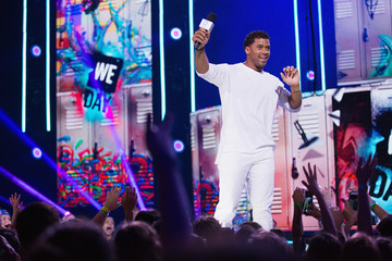Russell Wilson Celebrities Attend WE Day Seattle to Celebrate the Power Young People Have to Change the World