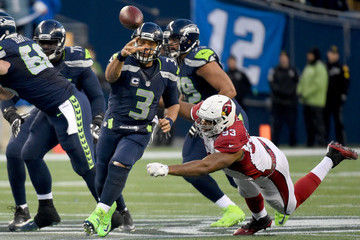 Russell Wilson Arizona Cardinals v Seattle Seahawks