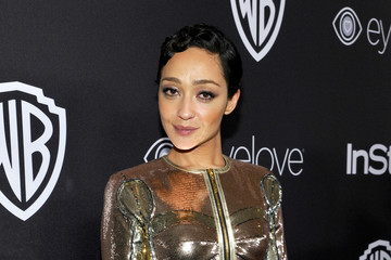 Ruth Negga  The 2017 InStyle and Warner Bros. 73rd Annual Golden Globe Awards Post-Party - Red Carpet