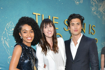 """Ry Russo-Young Charles Melton World Premiere Of Warner Bros """"The Sun Is Also A Star"""" - Red Carpet"""