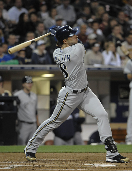 Milwaukee Brewers v San Diego Padres []