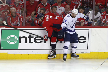 Ryan Callahan Tampa Bay Lightning Vs. Washington Capitals - Game Three