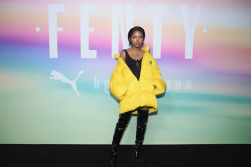 Ryan-Destiny FENTY PUMA by Rihanna Spring/Summer 2018 Collection - Front Row + Arrivals