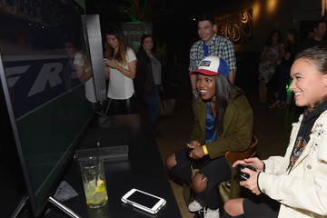 Ryan-Destiny Chris Evans, Lauren Cohan, and Lil Jon Host a Celebrity Gaming Event and Xbox Live Session in Atlanta