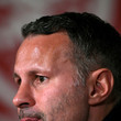 Ryan Giggs Wales Training Session