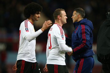 Ryan Giggs West Ham United v Manchester United - The Emirates FA Cup Sixth Round Replay