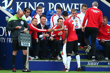 Ryan Giggs Leicester City v Manchester United - Premier League