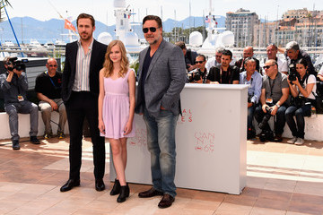 Ryan Gosling Russell Crowe 'The Nice Guys' Photocall - The 69th Annual Cannes Film Festival