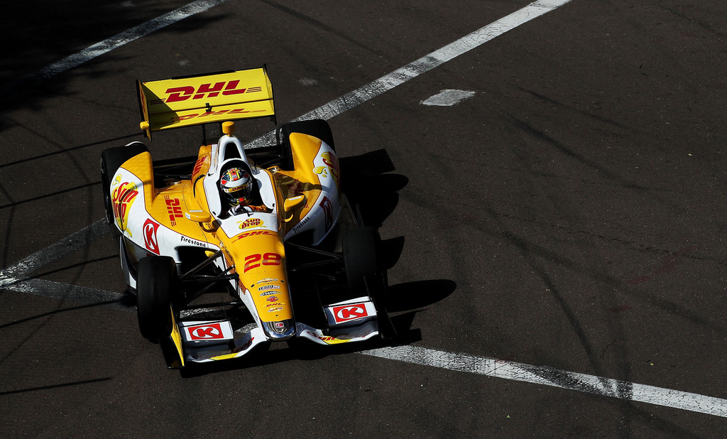 Ryan Hunter-Reay - Honda Grand Prix of St. Petersburg - Day 2