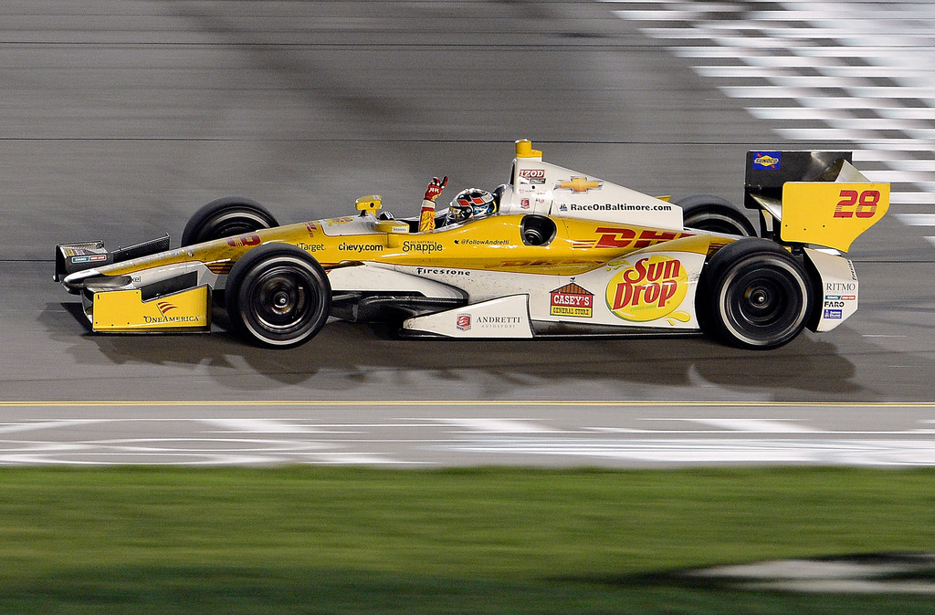 Ryan Hunter-Reay - Iowa Corn Indy 250 - Day 2