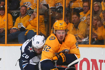 Ryan Johansen Winnipeg Jets vs. Nashville Predators - Game Five