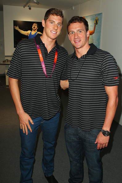Conor Dwyer and ryan lochte
