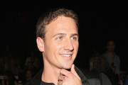 Ryan Lochte Gets Modeling Advice From Carmen Dell'Orefice (+ He Visits StyleBistro!)