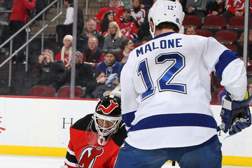Ryan Malone Tampa Bay Lightning v New Jersey Devils