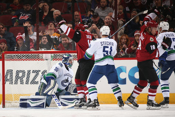 Ryan Miller Vancouver Canucks v Arizona Coyotes