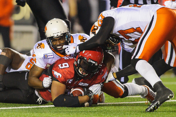 BC Lions  v Calgary Stampeders