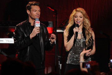 Ryan Seacrest Target Presents iHeartRadio Album Release Party with Shakira