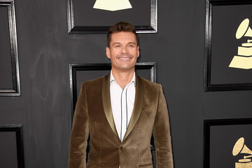 Ryan Seacrest The 59th GRAMMY Awards - Arrivals