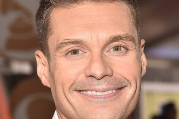 Ryan Seacrest The 59th GRAMMY Awards -  Red Carpet